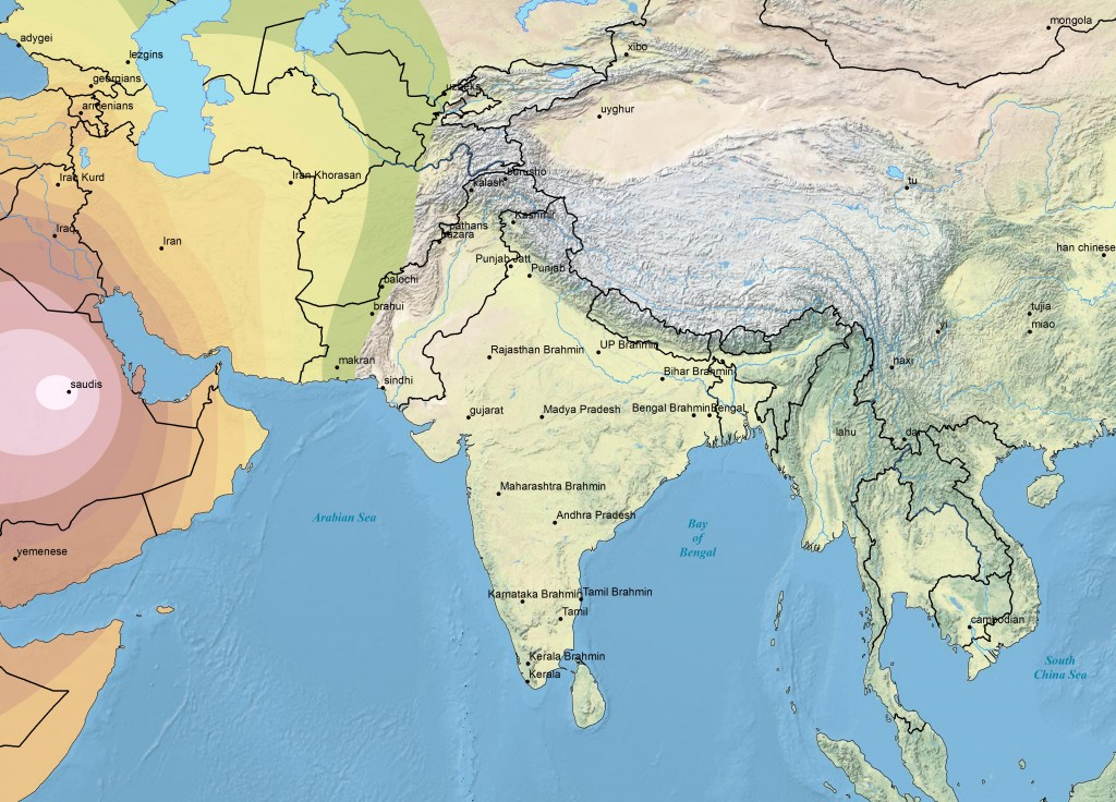 Harappa Maps | Harappa Ancestry Project